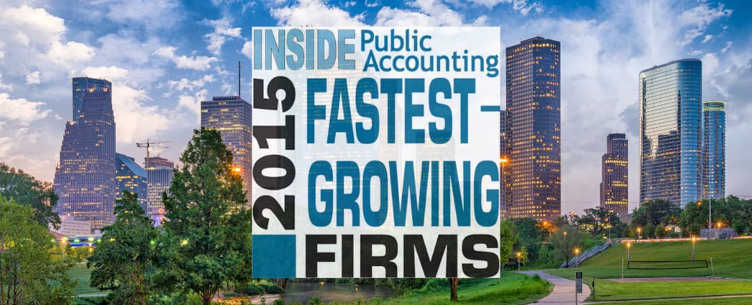 Calvetti Ferguson is No. 1 Fastest-Growing U.S. Accounting Firm in 2015